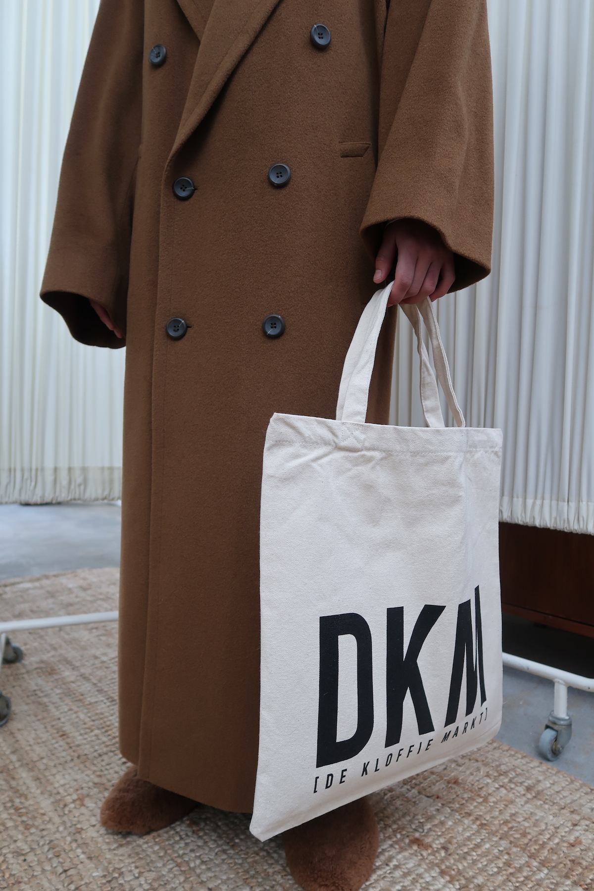DKM Reusable Canvas Tote Bag